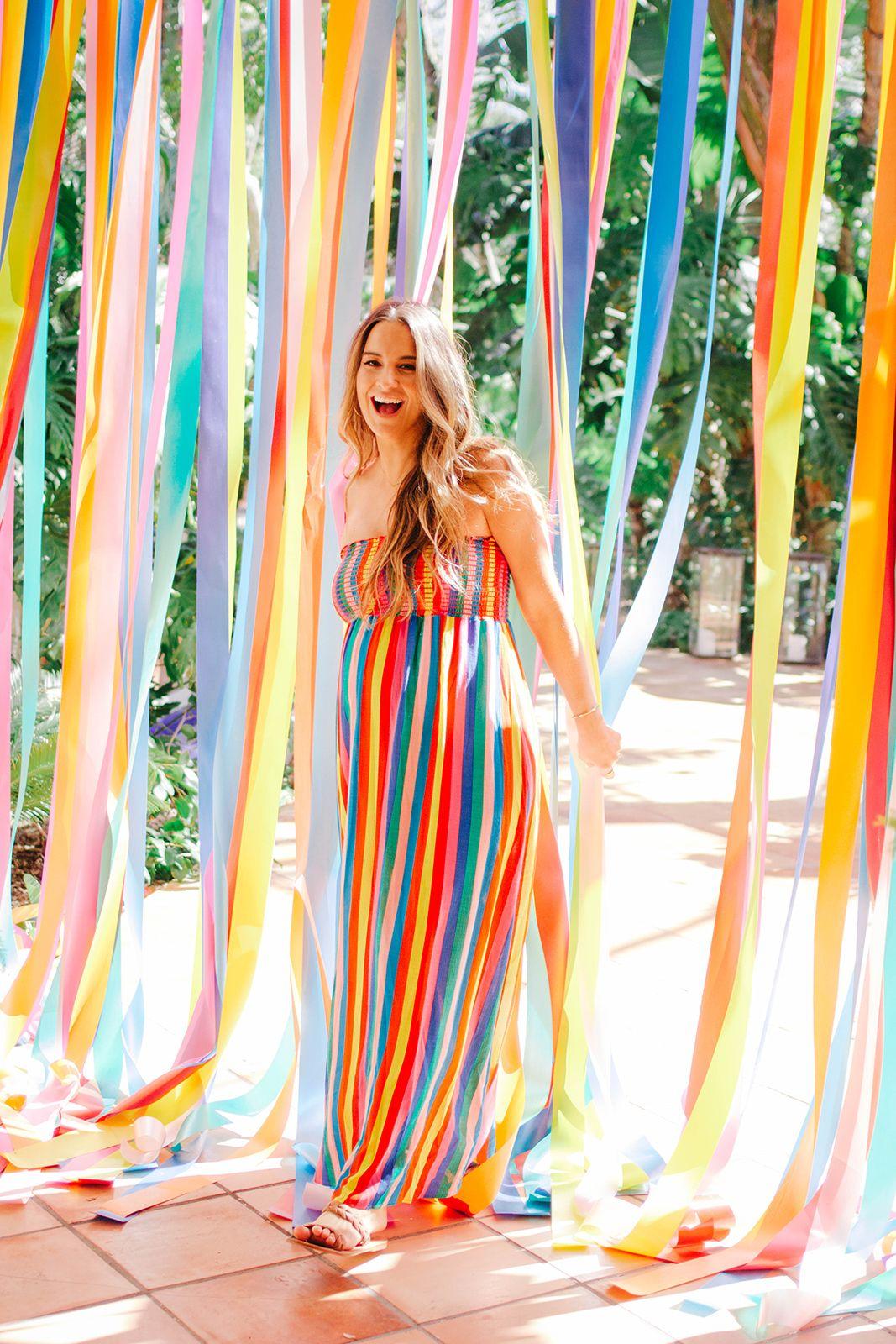 Cammy's Rainbow Baby Shower | Rainbow baby shower theme