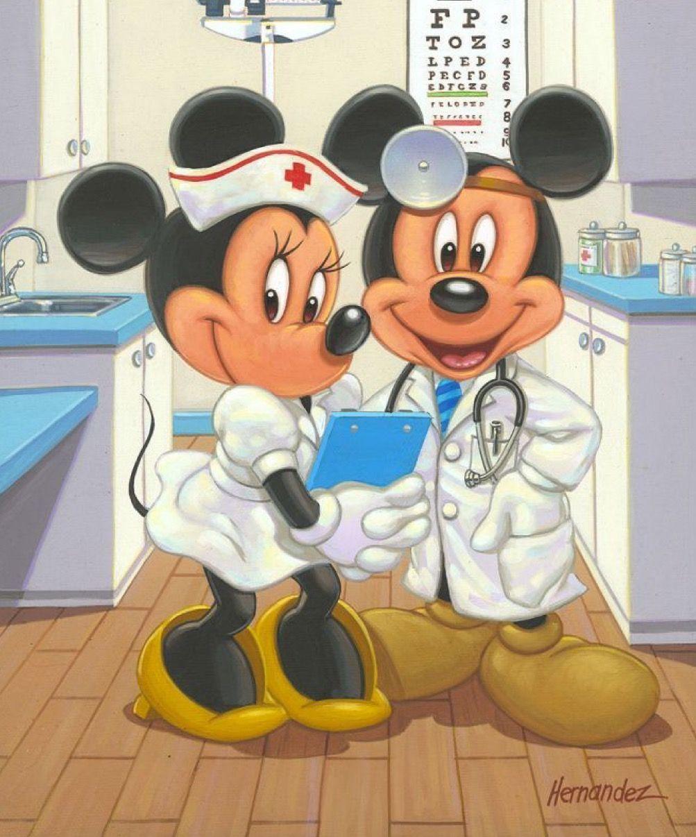 Dr mickey! | Mickey mouse wallpaper, Disney fine art, Mickey