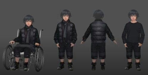 Kingsglaive Final Fantasy Xv Concept Art Of Young Noctis Final