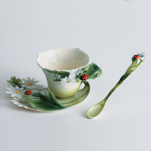 I love Franz porcelain. Would love to have a teacup collection and/or teapot collection.