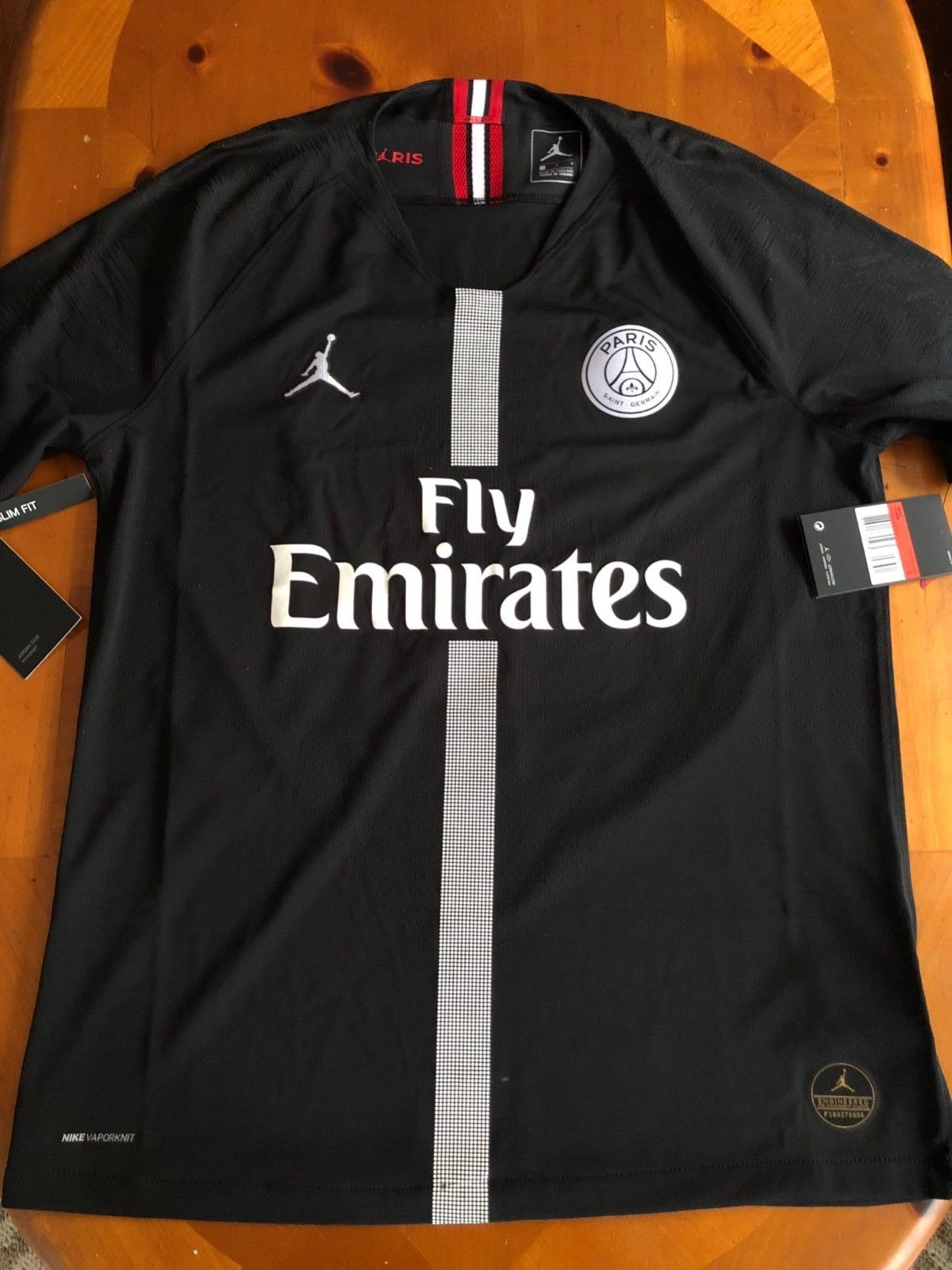 PSG Jordan Nike Vaporknit Vapor Match Authentic Champions League ... 127b2589946