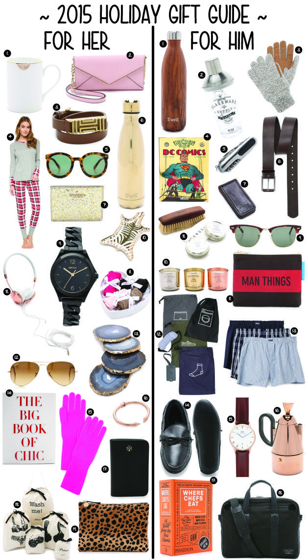 2015 HOLIDAY GIFT GUIDE & SHOPBOP SALE - GOLD COAST GIRL