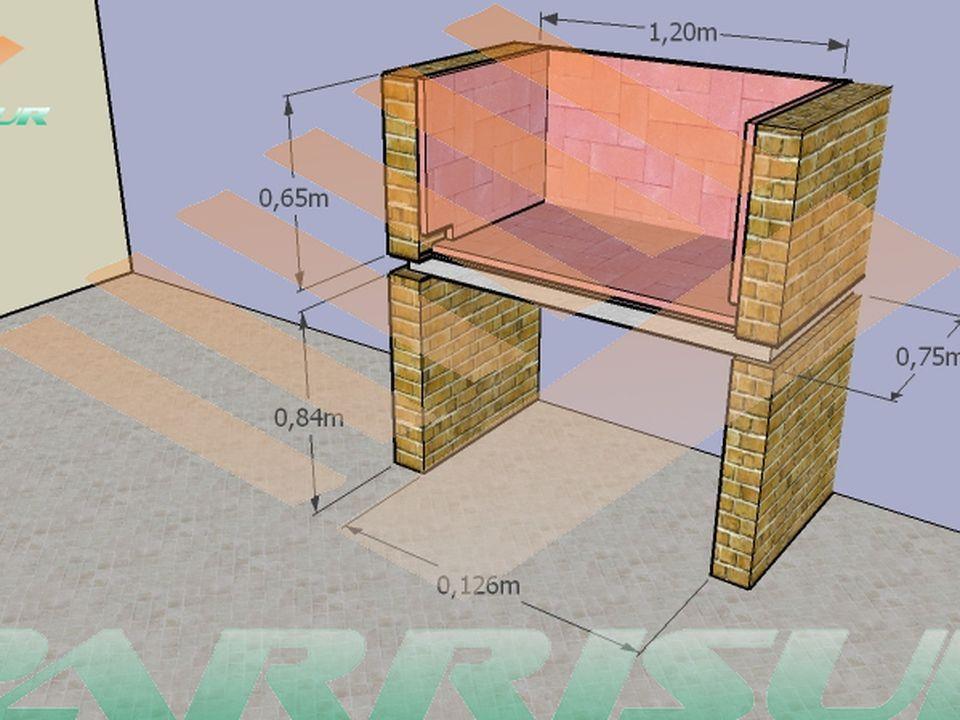 Como construir una parrilla taringa gael como construir una parrilla c mo construir y - Planos barbacoas de obra ...