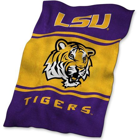 These UltraSoft blankets keep you warm without being unwieldy. They are made of 100 percent polyester with and feature your team's sublimated logo. Size: 84 inch x 54 inch. Color: Purple.