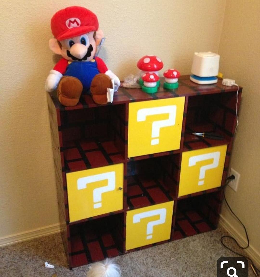 Pin by Vicoritosh Terivi on Slaapkamer Connor in 18  Mario room