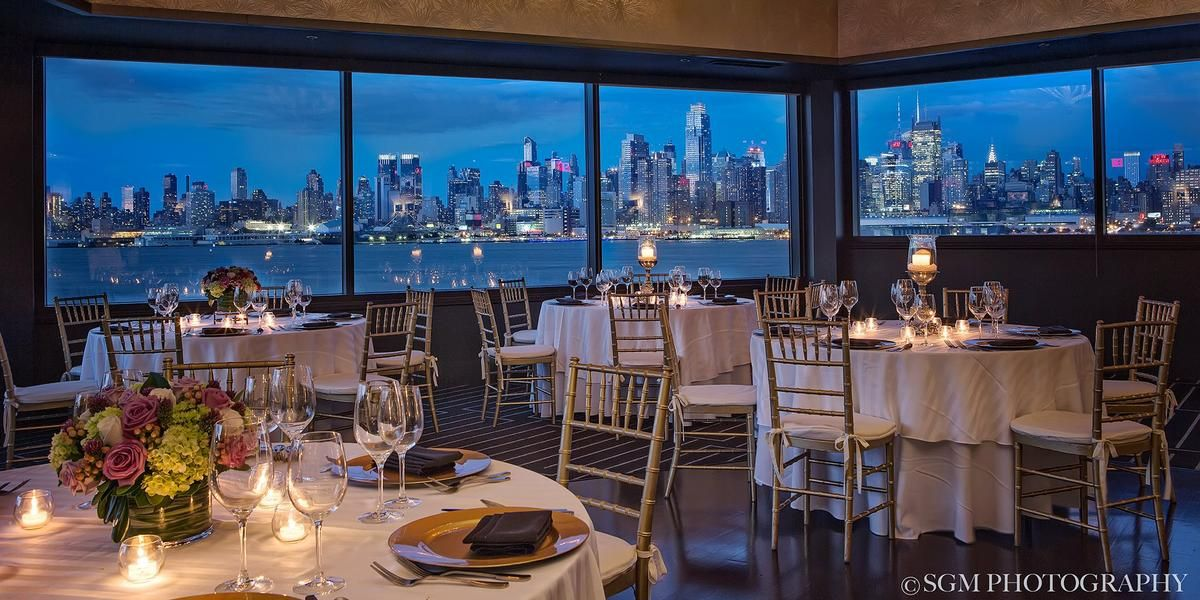 Chart House Weehawken Weddings Get Prices for New Jersey Wedding
