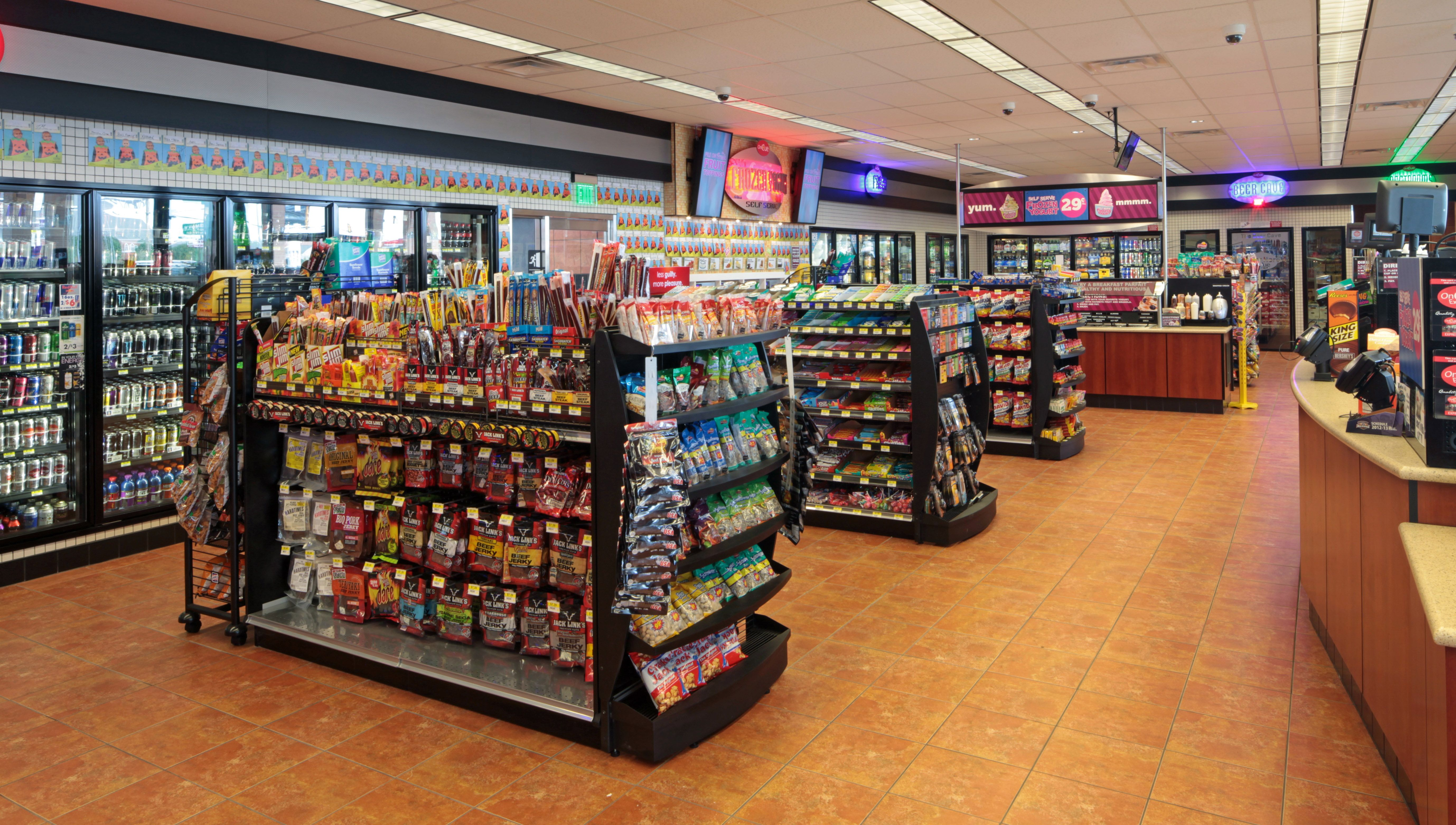 Hfa Designs Convenience Store Interiors Electrical And Plumbing