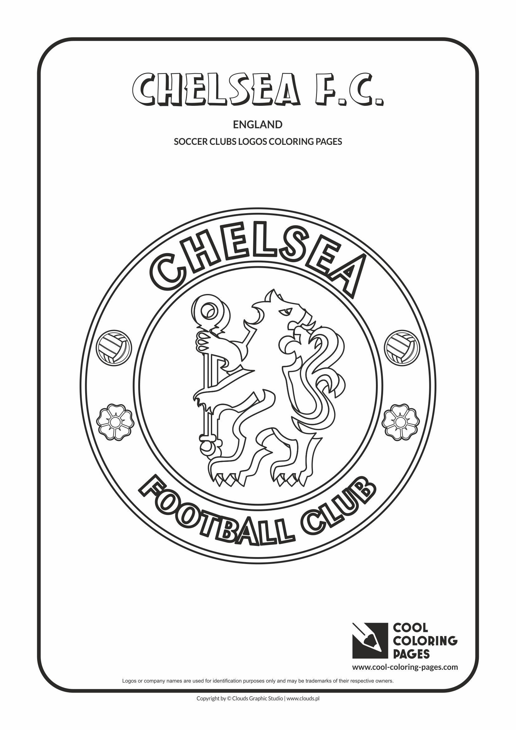 cool coloring pages soccer clubs logos paris saint germain