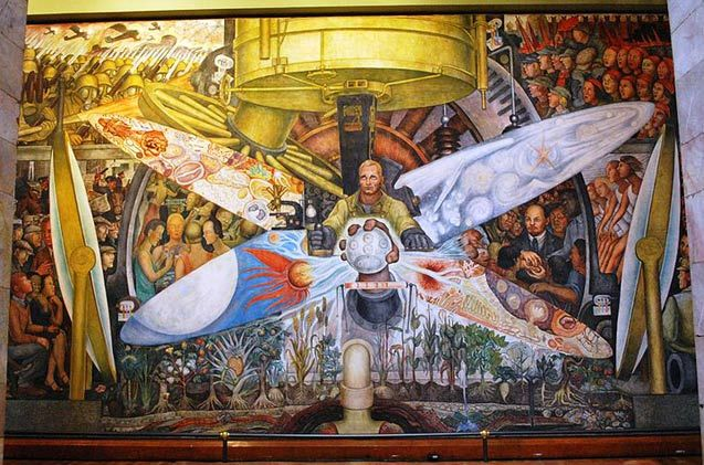 diego rivera panel for rockefeller center that was