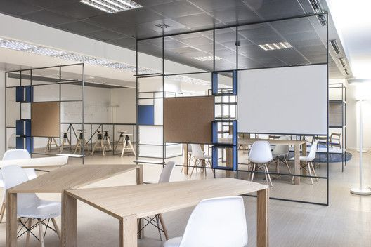 Digital entity workspace de amicis architetti archdaily