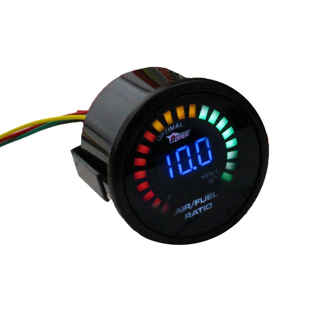 Air Fuel Gauge 2inch 52mm Electrical Car Meter Digital Smok Auto Circuit Tester 6v 12v 24 Volts Voltage Test Voltmeter Ratio