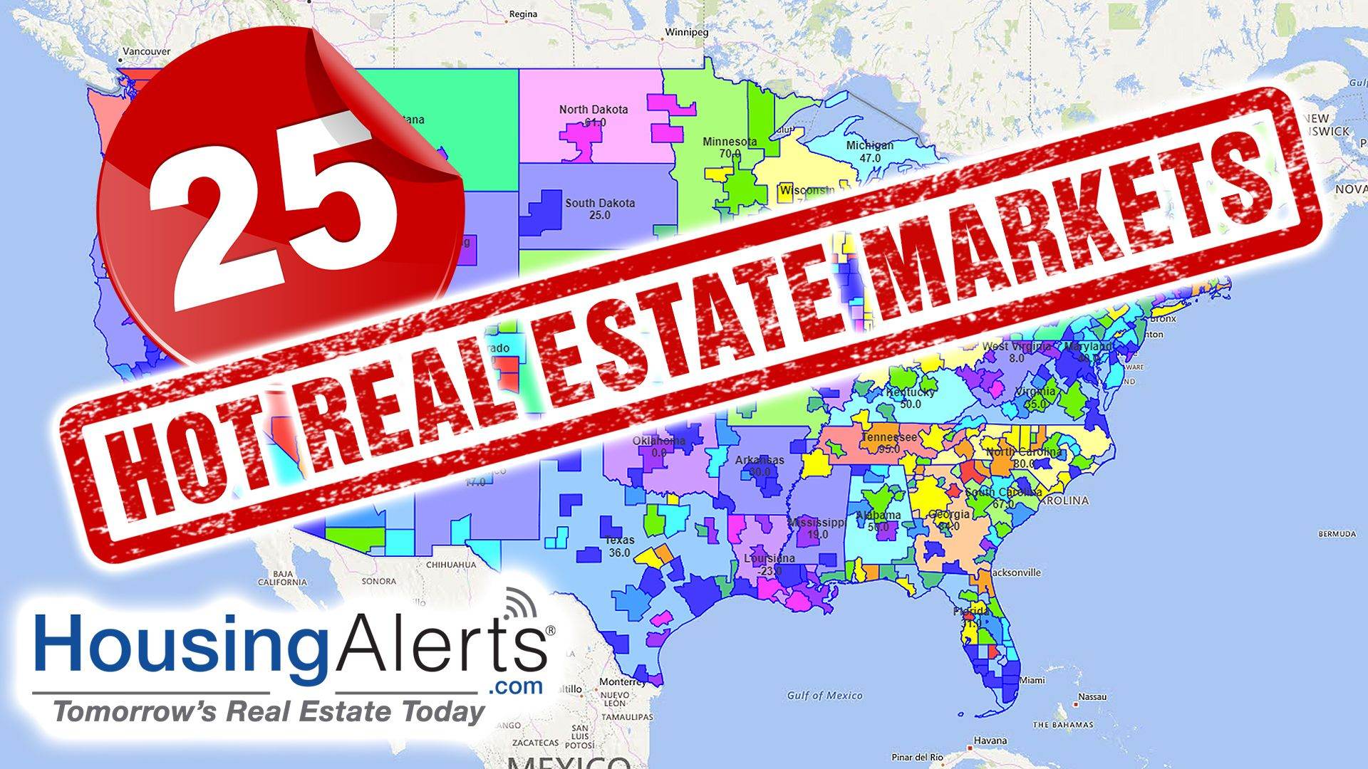 Top 25 Real Estate Markets New 2019 Real Estate Marketing