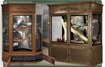 Majestic Furniture Style Bird Cages Wooden Reptile