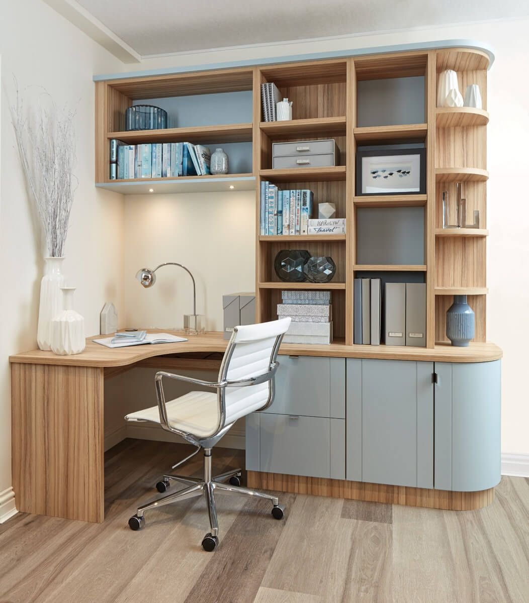 fitted home office furniture in 2019 study table designs