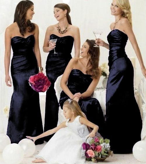BLACK BRIDESMAID EVENING WEDDING DRESS RED ROYALBLUE SILVER CADBURY PURPLE PINK