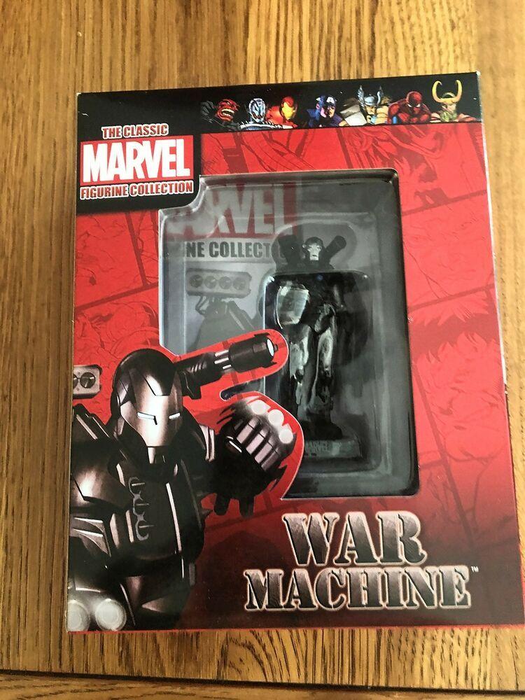 Classic marvel figurine collection war machine brand new