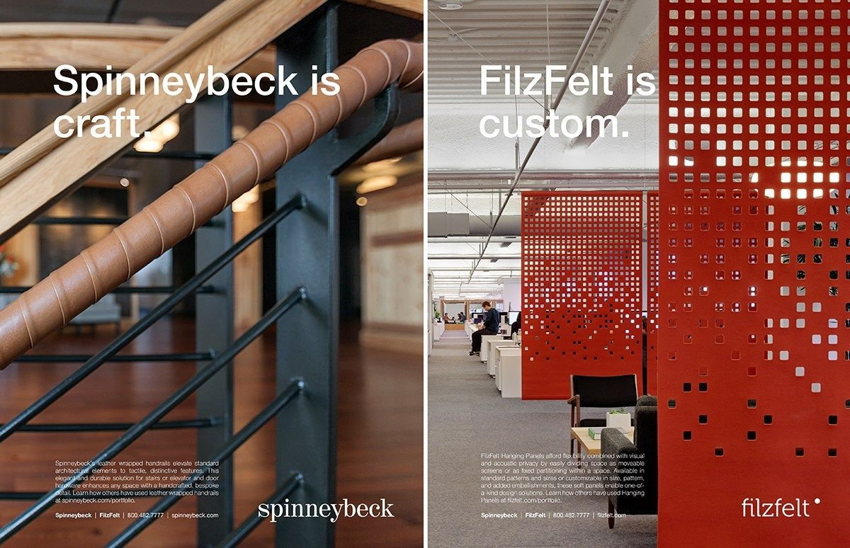 Spinneybeck Filzfelt Ad Campaign Kelly Harris Smith Digital