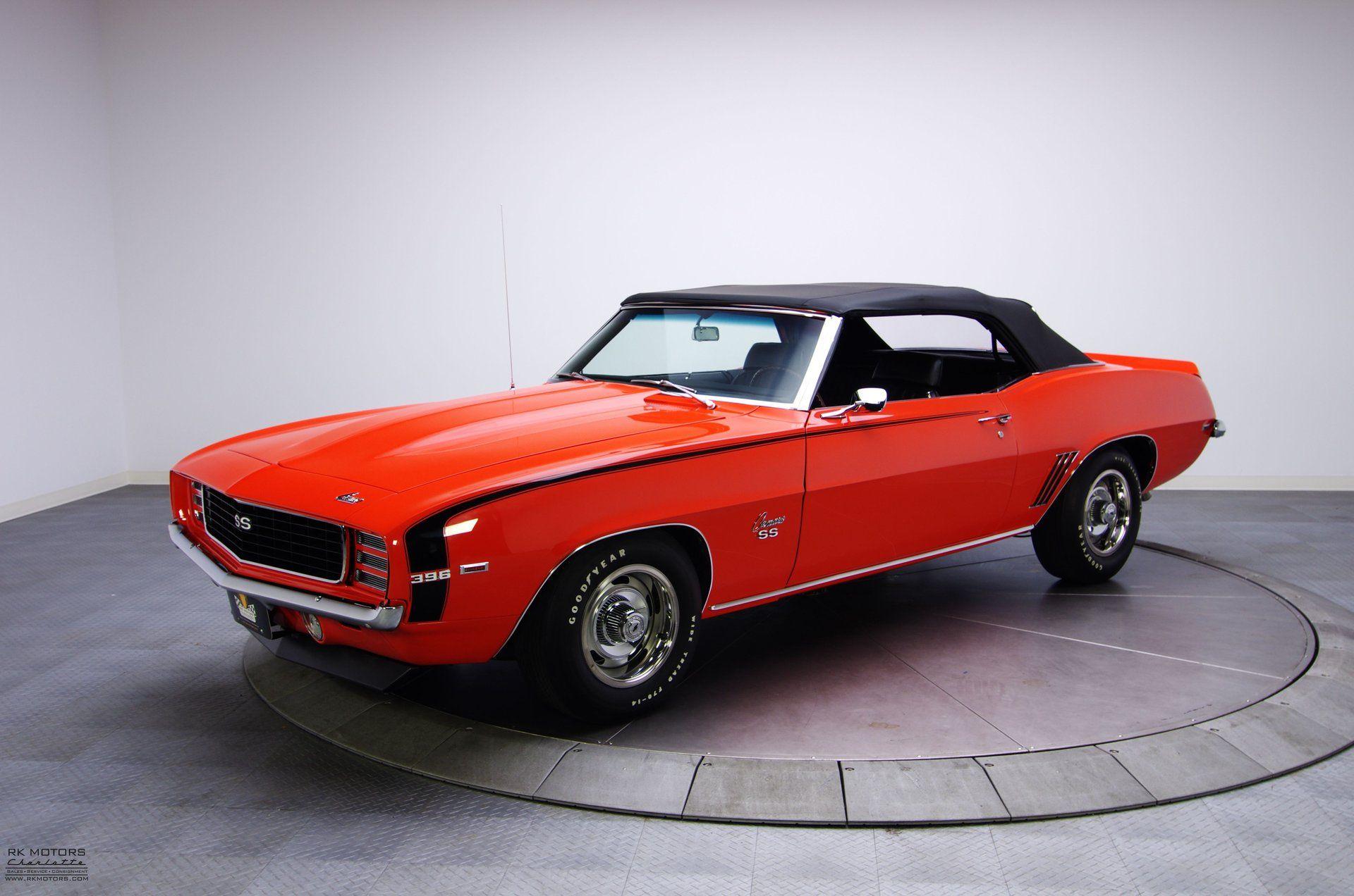 132613 1969 chevrolet camaro rk motors classic cars and