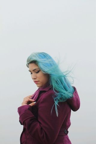Aquamarine In The Fading Out Phase By Arctic Fox Hair Color
