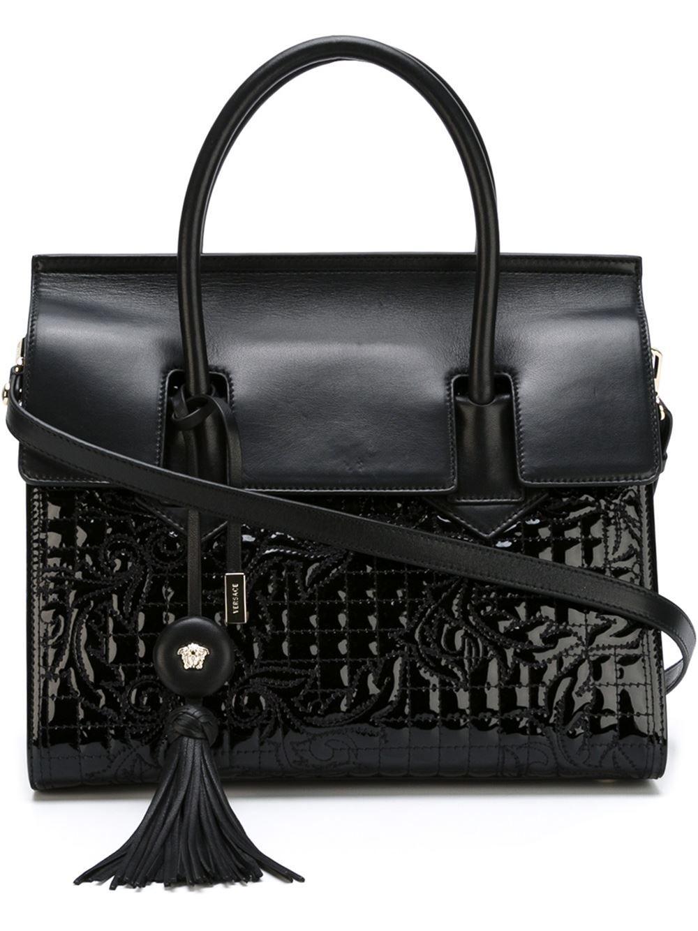 Versace 'vanitas' Tassel Tote - Elite - Farfetch.com
