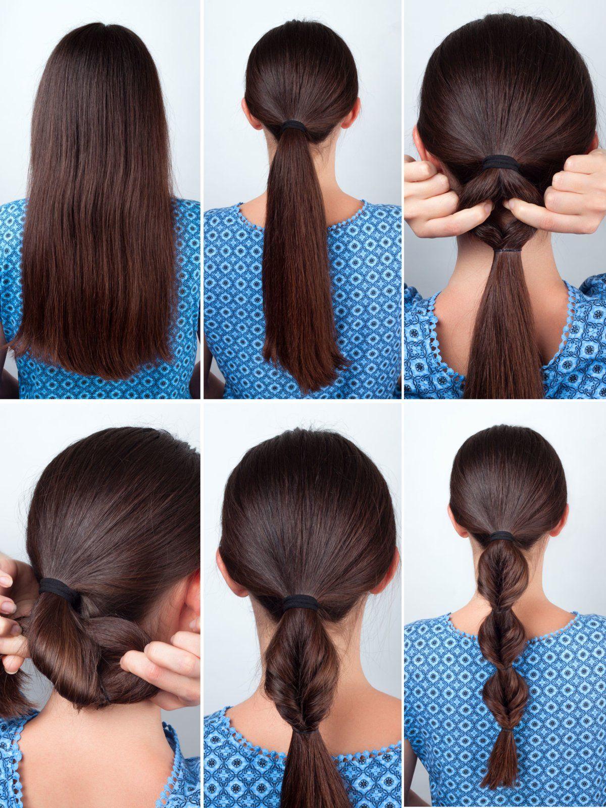 Step By Step Die 10 Schönsten Frisuren Zum Nachstylen Pinterest