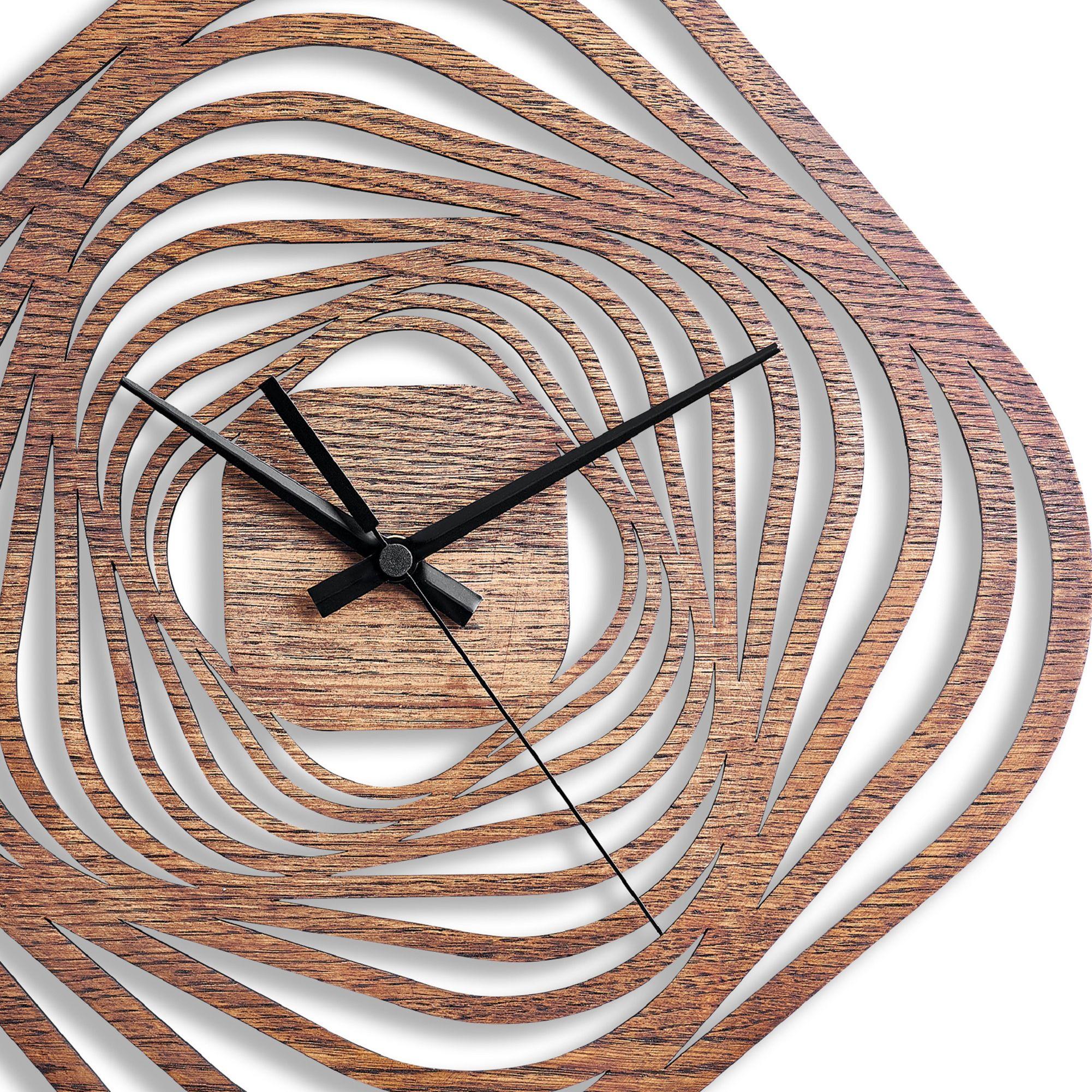 Wooden Wall Clocks Natural Wood Clock Wood Wall Clock Round Wall Clock Decorative Wood Clock Modern Wall Clock Live Edge Wood Relojes De Madera Relojes De Pared Grande Relojes De Pared