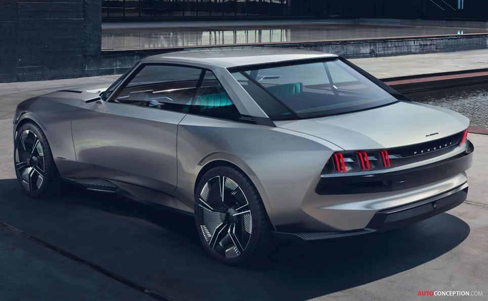 Peugeot Reveals Retro Futuristic E Legend Concept Beautiful