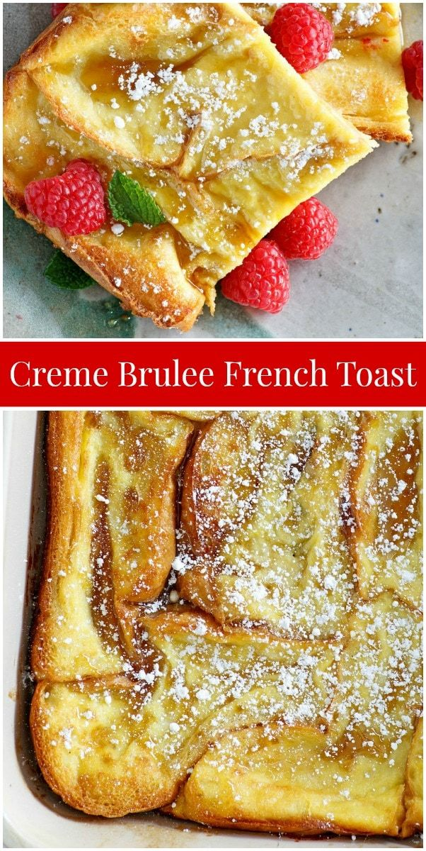 Creme Brulee French Toast recipe from