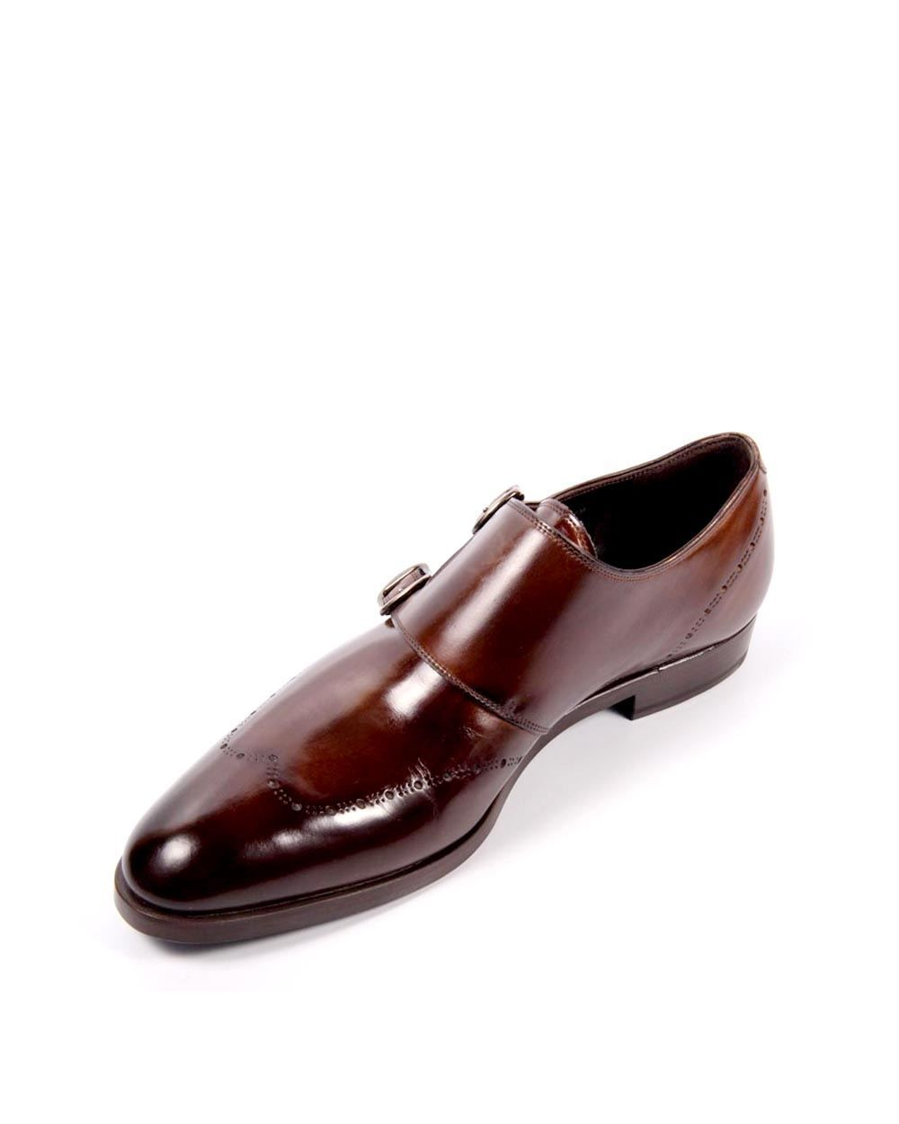 Fratelli Rossetti BROWN Monk Shoes 42
