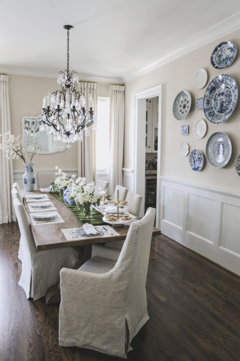 Ringing In The Spring With Lucy S Market Born On Fifth French Country Dining Room Traditional Dining Rooms Country Dining Rooms