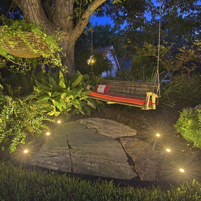 puck led landscape light landscaping and lights