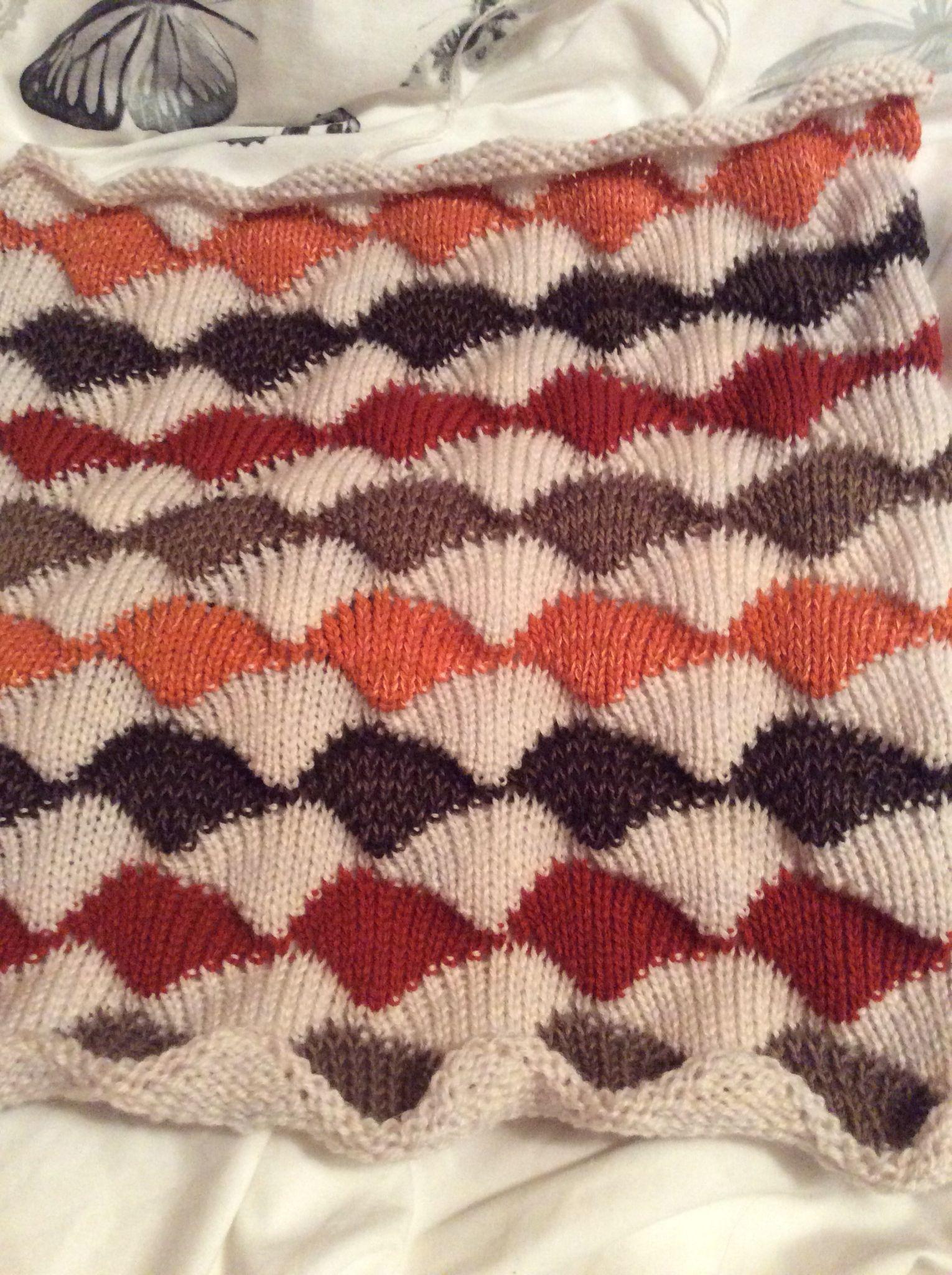 Diana sullivans seashell pattern knitted on my chunky brother 260 diana sullivans seashell pattern knitted on my chunky brother 260 bankloansurffo Images