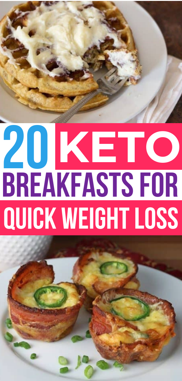 20 Easy Keto Breakfast Recipes That'll Help You Lose Weight images