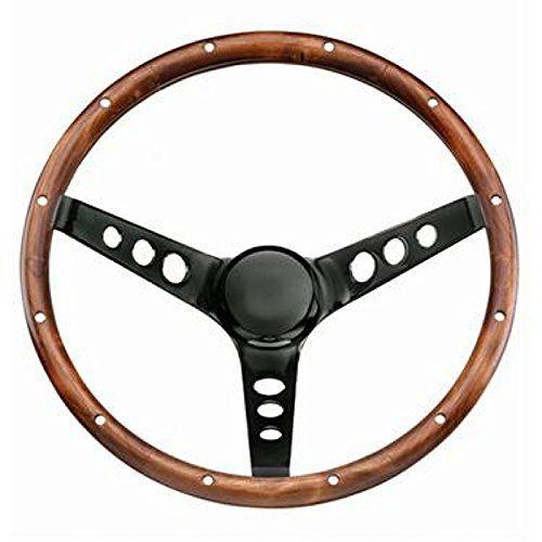 Classic Wood Steering Wheel
