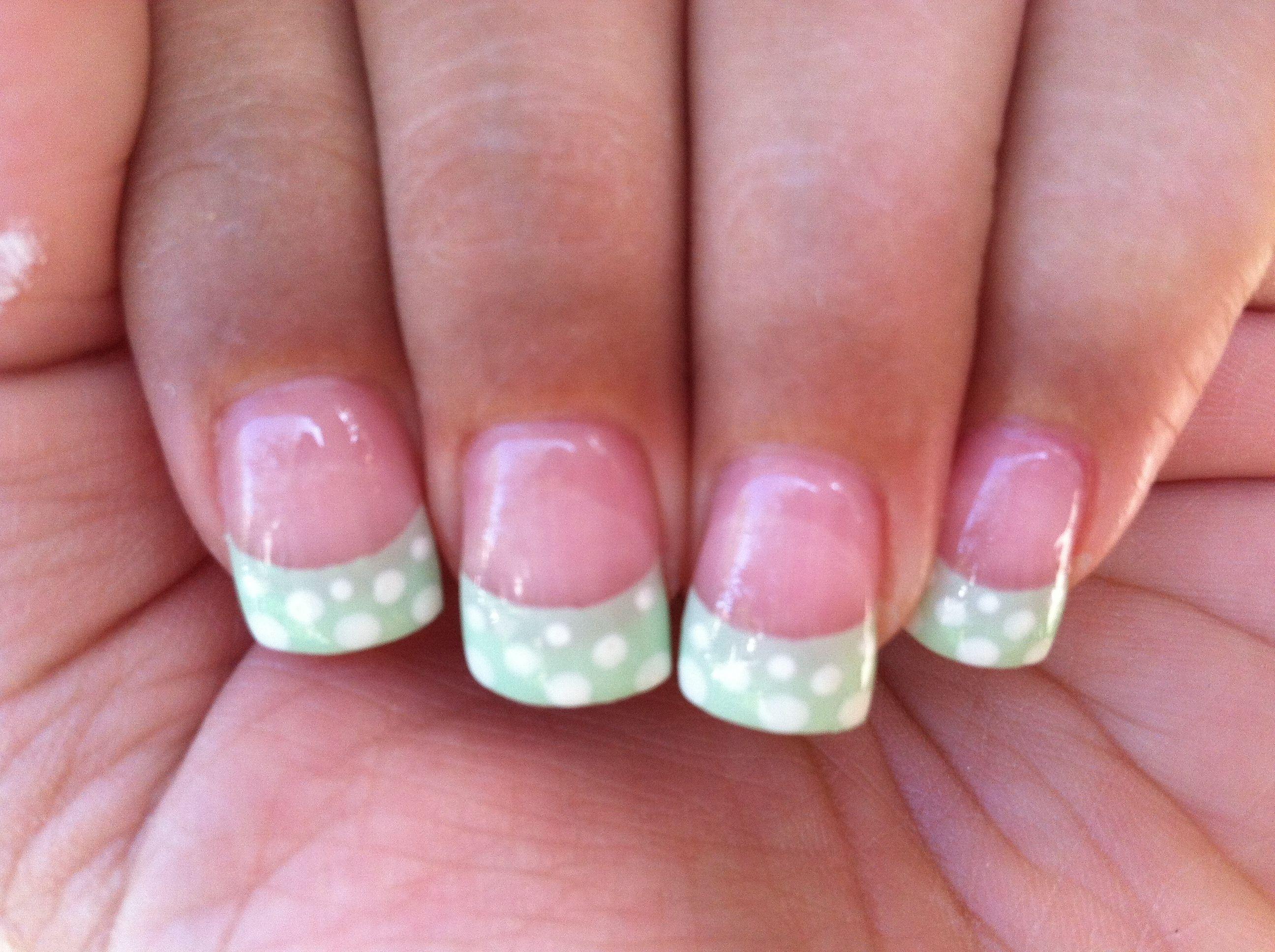 Cute summer french tip design   Nails   Pinterest   Nail nail and Makeup