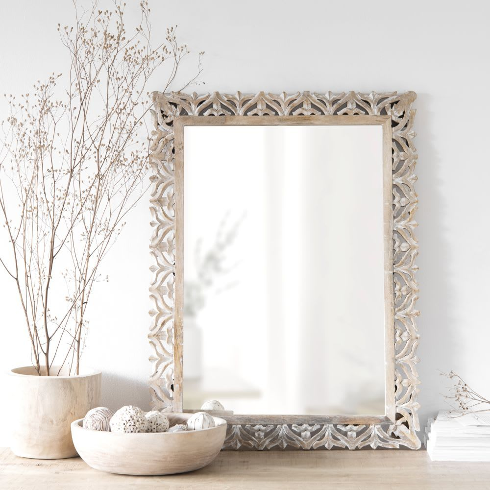 Parete Attrezzata Con Cornice decorazioni parete nel 2020 (con immagini)   specchio con