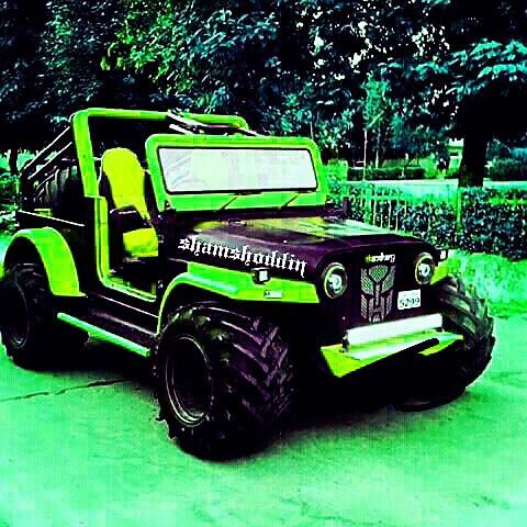 Http Tashion In Modified Jeep India
