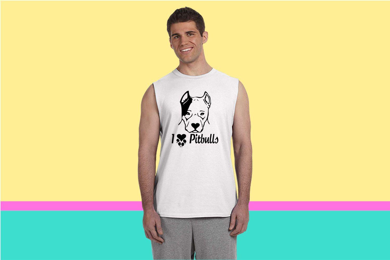pitbullterrierlove Sleeveless T-shirt