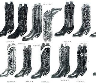 Gotta love some custom handmade cowboy boots in green calf tops ...