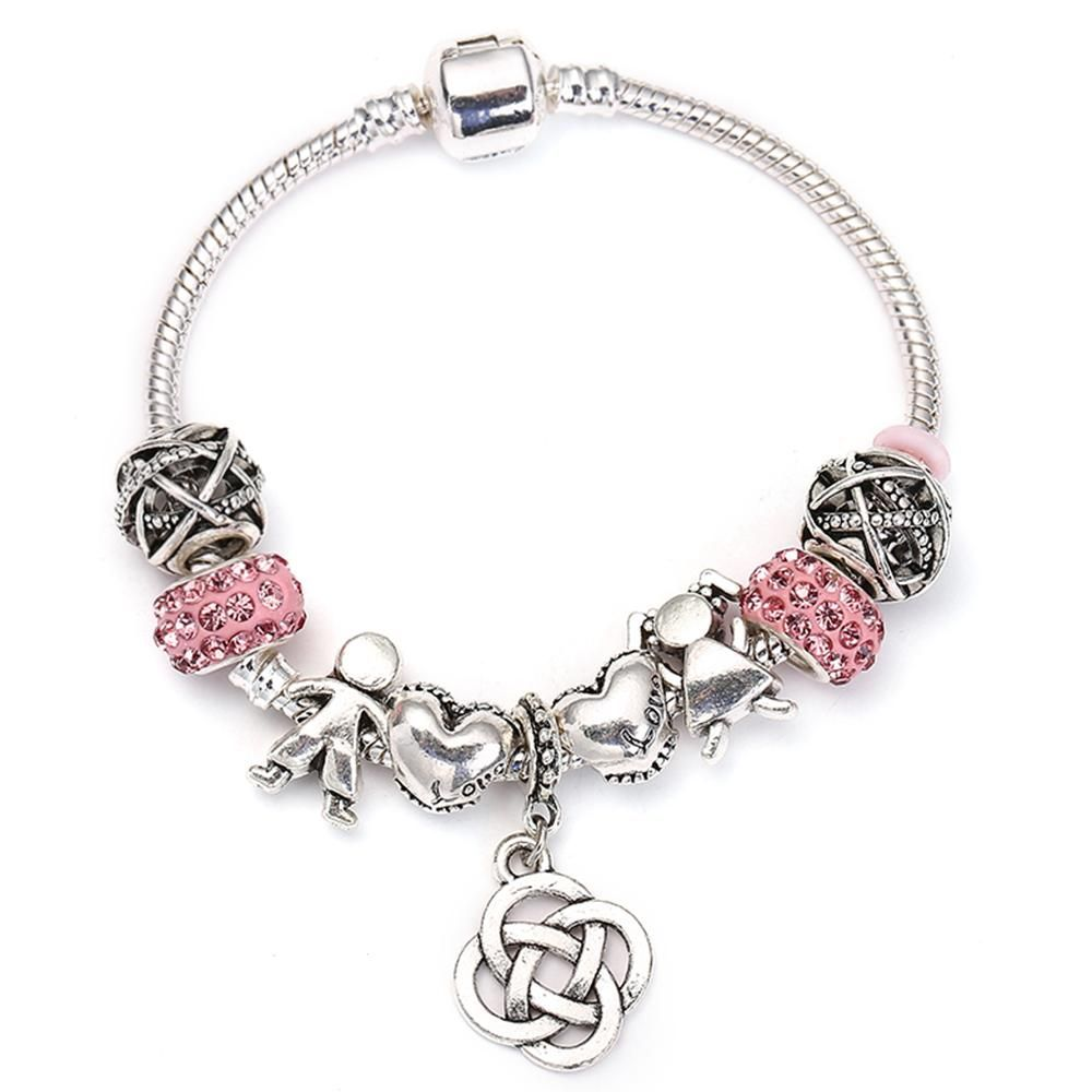 Four leaves grass charm bracelet for women bracelets pinterest