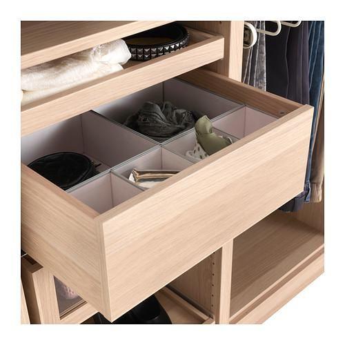 40 ikea komplement drawers 4 for pax shelf unit. Black Bedroom Furniture Sets. Home Design Ideas