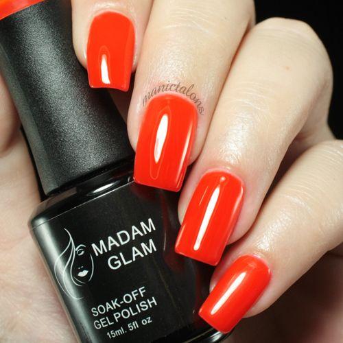 Madam Glam UV Gel 003 - Blood Orange