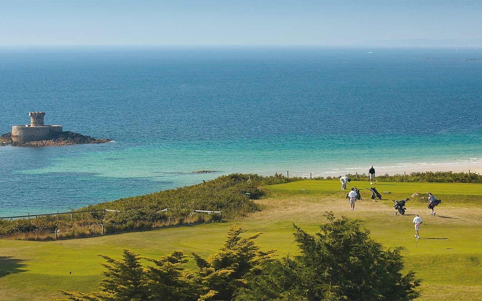 Atlantic Hotel Jersey - Enjoying a spectacular location alongside the hotel is La Moye championship golf course. - www.theatlantichotel.com -  #AtlanticJersey #AtlanticHotelJersey #slh #BoutiqueHotel #SmallLuxuryHotels #stouensbay #jerseychannelislands