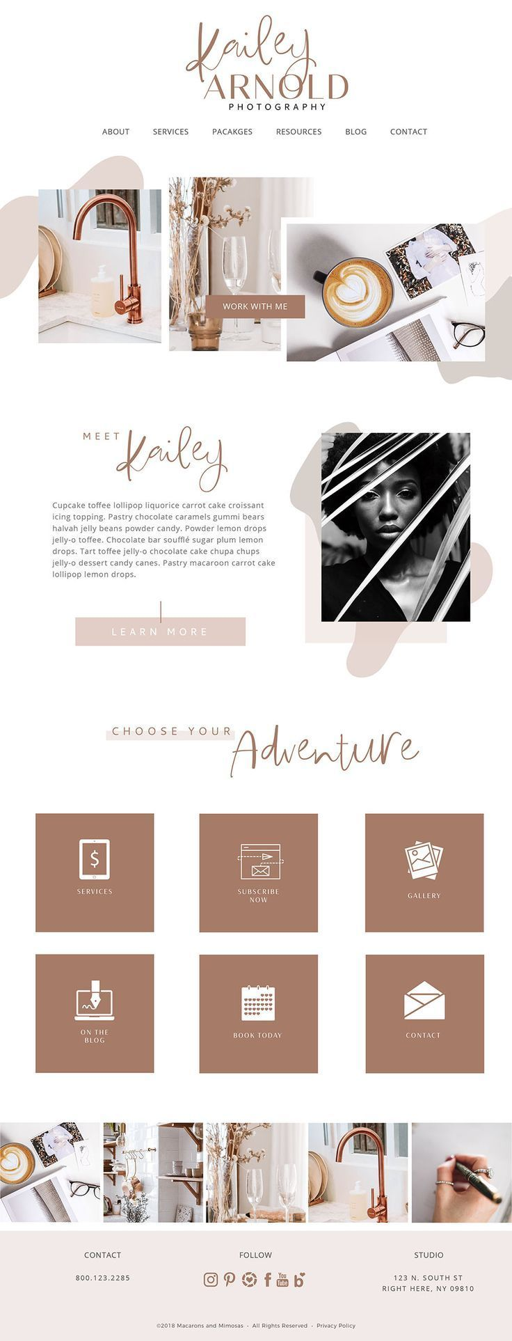 Kailey // Websites, Blog, Social Media Bundle • Genesis Child Theme