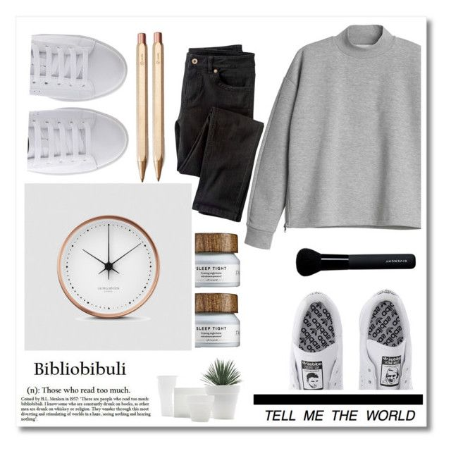 """tik tok"" by madamitsa ❤ liked on Polyvore featuring moda, Michael Kors, Monki, adidas, Georg Jensen, Wrap, ystudio, Givenchy, women's clothing y women"