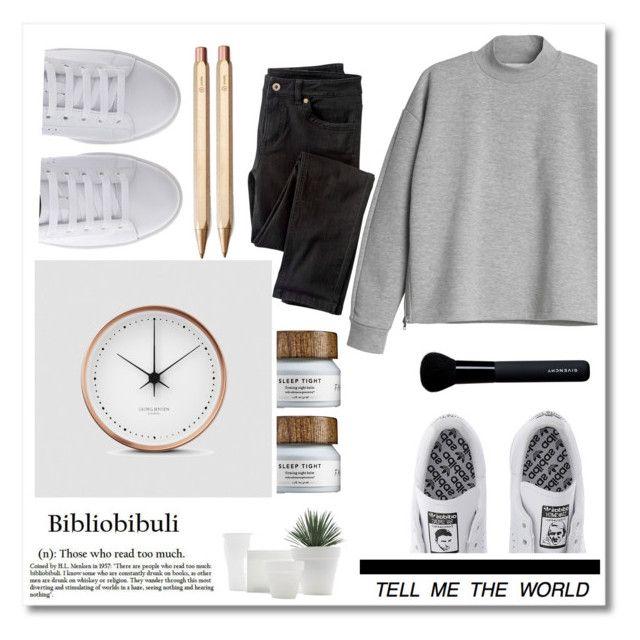 """tik tok"" by madamitsa ❤ liked on Polyvore featuring moda, Michael Kors, Monki, adidas, Georg Jensen, Wrap, ystudio, Givenchy, women's clothing y women"