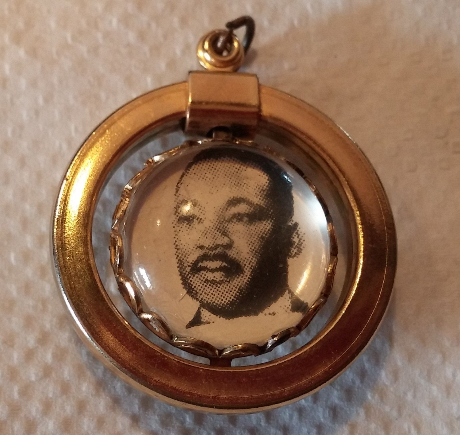 Martin Luther King I Have A Dream Double Sided Pendant