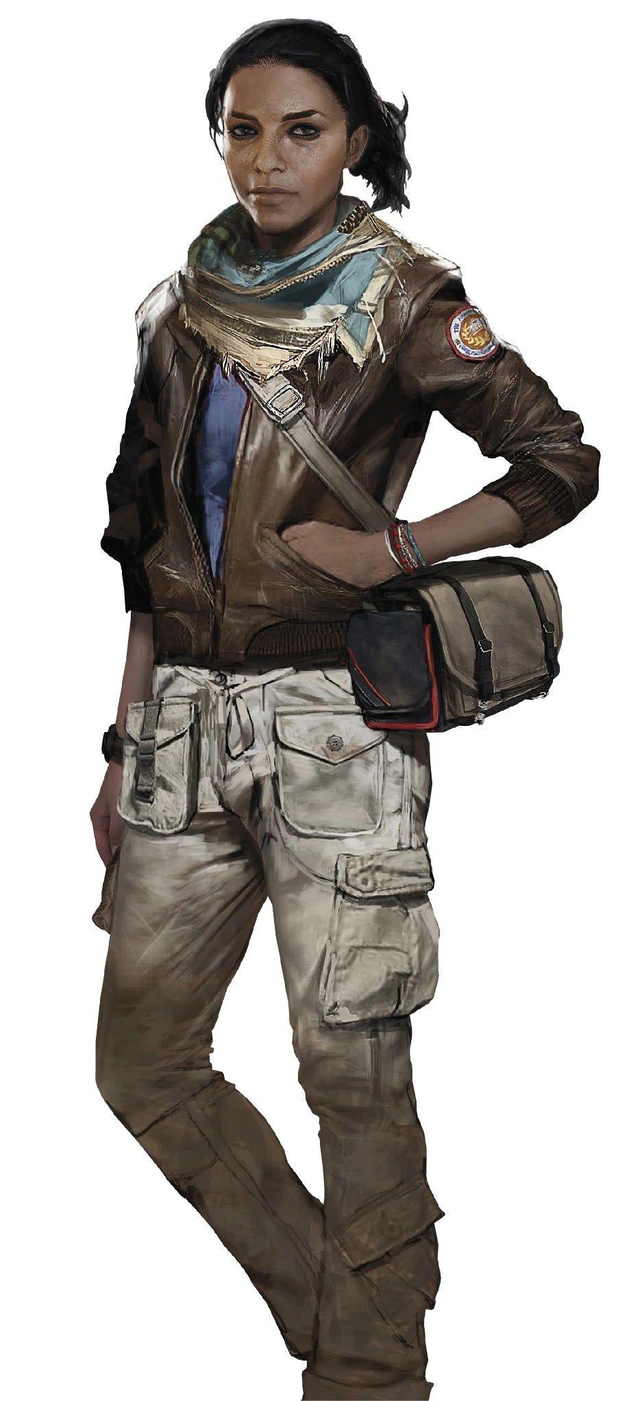 Assassin S Creed Origins Concept Art Of Layla Hassan