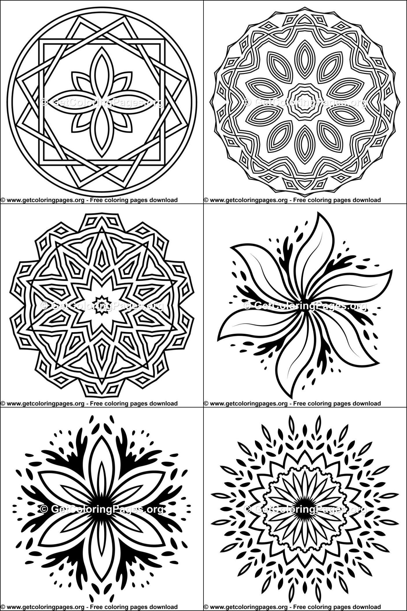 Free printable mandalas for beginners | Mandala printable ...