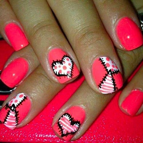 22 Best Valentine S Day Nail Designs For 2018 Nail Nail Kid Nails